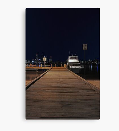 Coode St Jetty - Perth Western Australia  Canvas Print