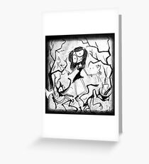 Evil Night Together Greeting Card