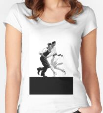 Dancing Women's Fitted Scoop T-Shirt
