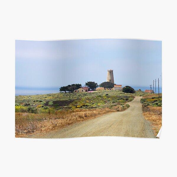 Piedras Blancas Lighthouse, CA Poster