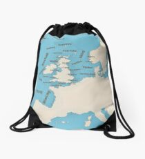 Shipping Forecast  Drawstring Bag
