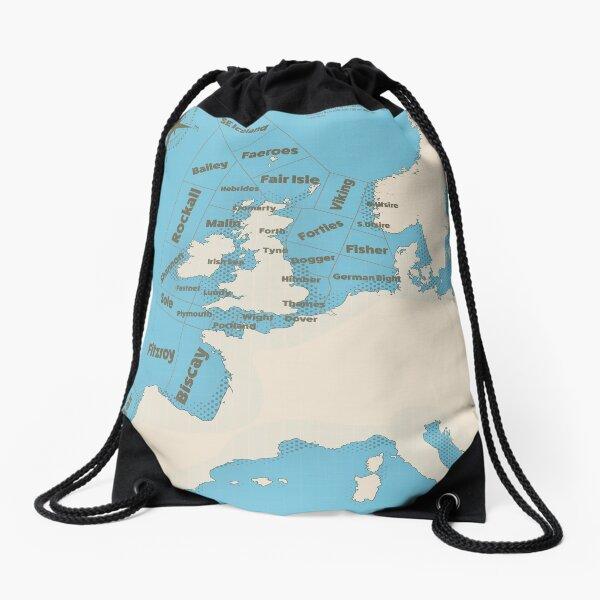 Shipping Forecast  Drawstring Bag