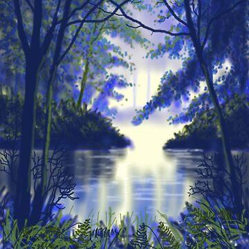 Forest Glow by treeman