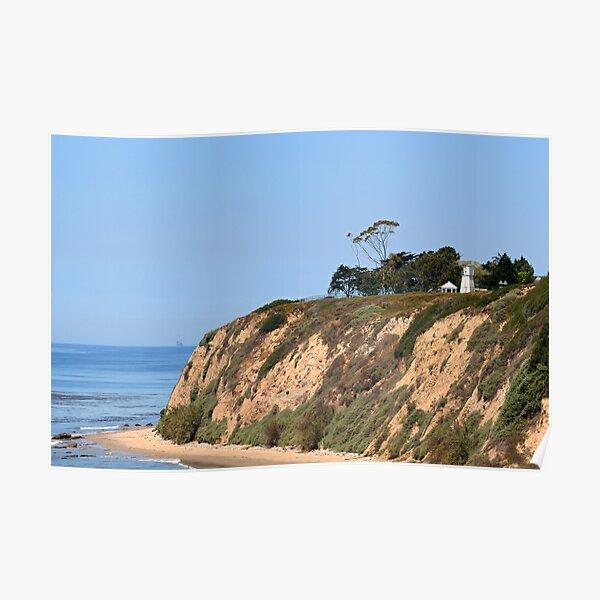 Santa Barbara Lighthouse, CA Poster