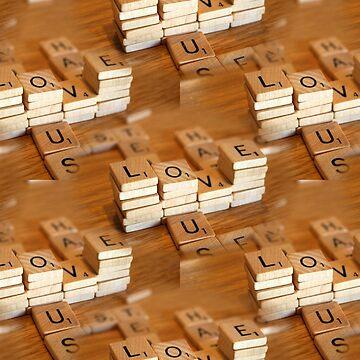 scrabble love by Snofpix