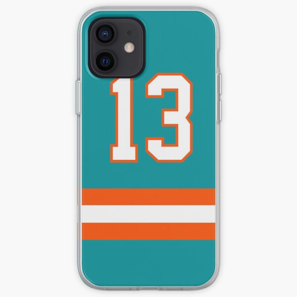 Miami Football - Home Number 13 iPhone Soft Case
