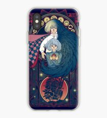 Art of a Moving Castle iPhone Case