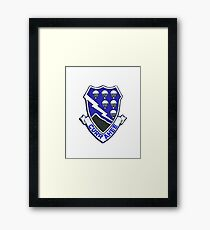 Currahee Patch 101st Airborne Framed Print