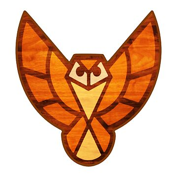 OWL, in WOOD by TOMSREDBUBBLE