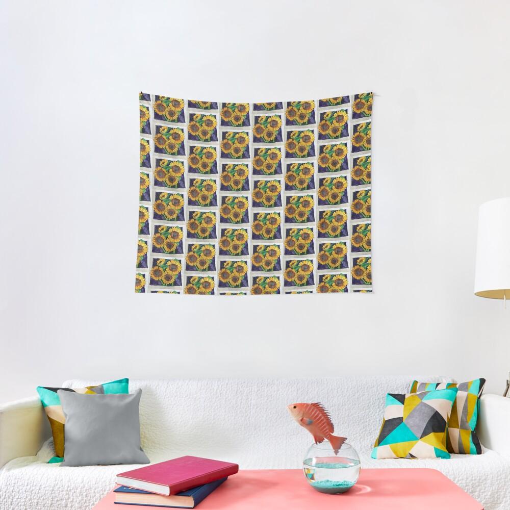 Sunflowers Tapestry