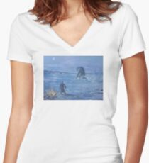 The Outpost Women's Fitted V-Neck T-Shirt