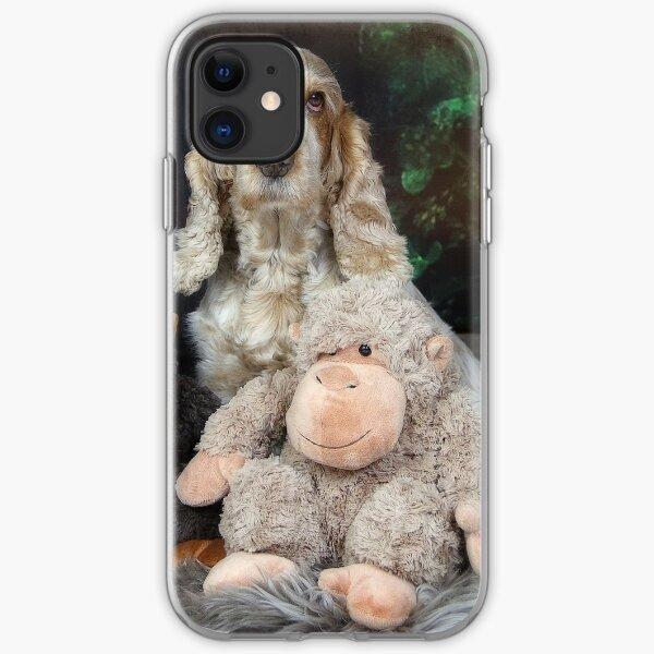 The monkeys iPhone Soft Case
