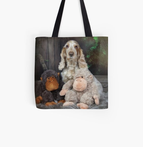 The monkeys All Over Print Tote Bag