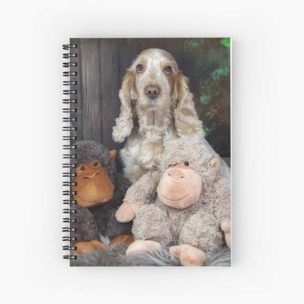 The monkeys Spiral Notebook