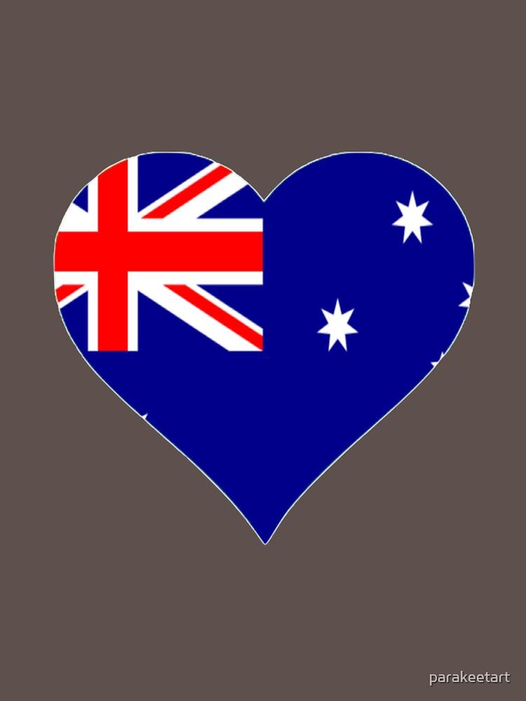 Australian Heart by parakeetart