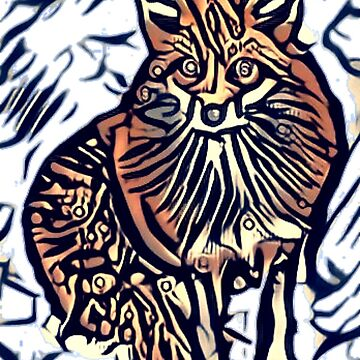 Crazy fox x  by tacostudio