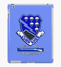 Currahee Patch - 101st Airborne w/CIB  iPad Case/Skin