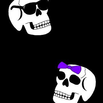 Skulls by GradientPowell