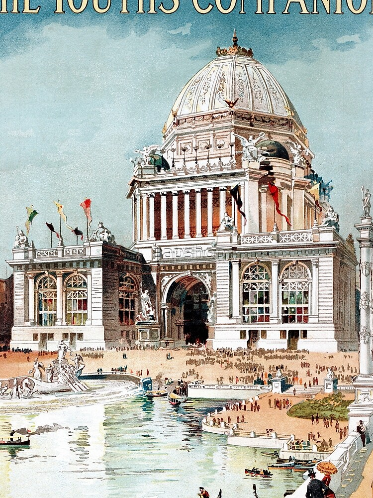 Vintage 1893 Chicago World's fair expo  by aapshop