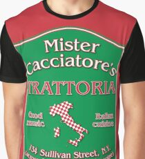 Mister Cacciatore's THIS DESIGN IS ALSO AVAILABLE ON OTHER MERCHANDISE Graphic T-Shirt