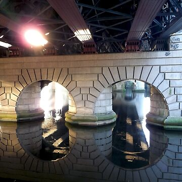 Reflecting under a bridge by CiaoBella