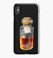 Whiskey = Dean Winchester's therapy tool iPhone Case