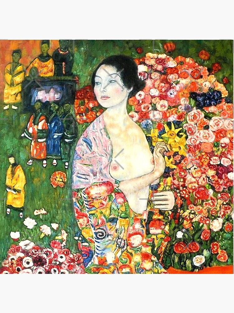 HD. The dancer, by Gustav Klimt . HIGH DEFINITION by mindthecherry