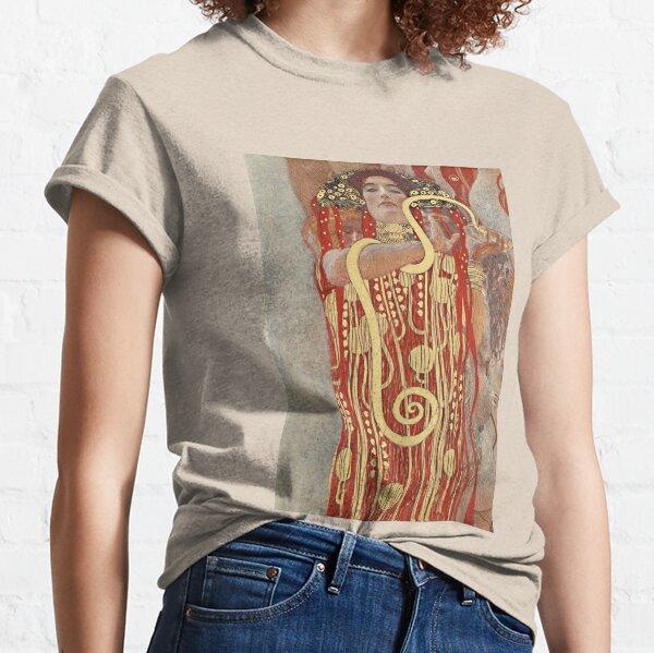 HD. Medicina, por Gustav Klimt. ALTA DEFINICIÓN Camiseta clásica