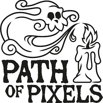 Path of Pixels Logo | Black by PathOfPixels