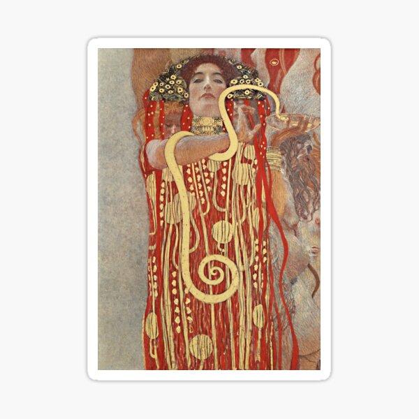HD. Médecine, par Gustav Klimt. HAUTE DÉFINITION Sticker