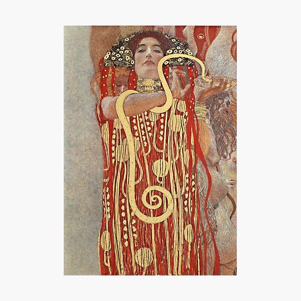 HD. Medizin, von Gustav Klimt. HOCHAUFLÖSEND Fotodruck