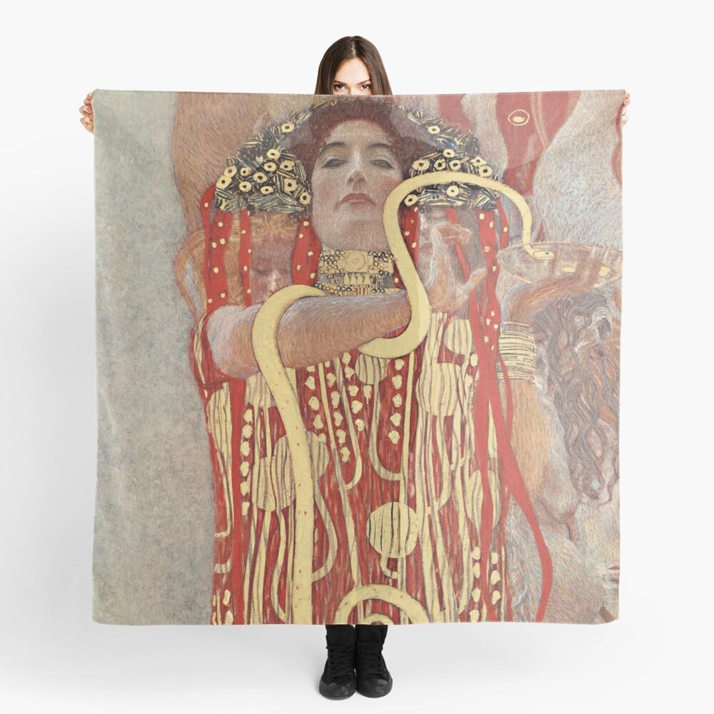 HD. Medicine, by Gustav Klimt . HIGH DEFINITION Scarf