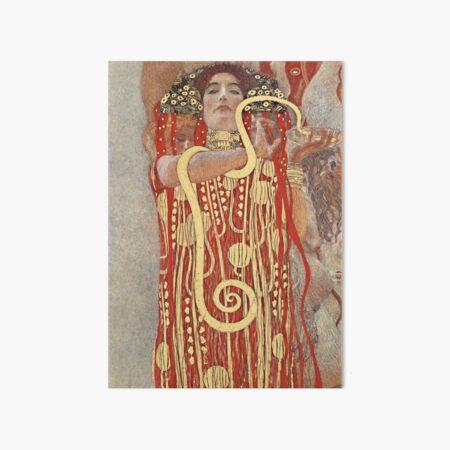 HD. Medicine, by Gustav Klimt . HIGH DEFINITION Art Board Print