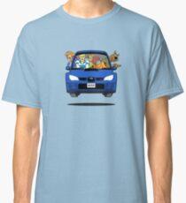 Camiseta clásica Subaru Impreza WRX Scooby Doo