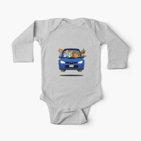 Subaru Impreza WRX Scooby Doo Long Sleeve Baby One-Piece