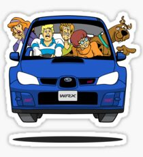 Subaru Impreza WRX Scooby Doo Sticker
