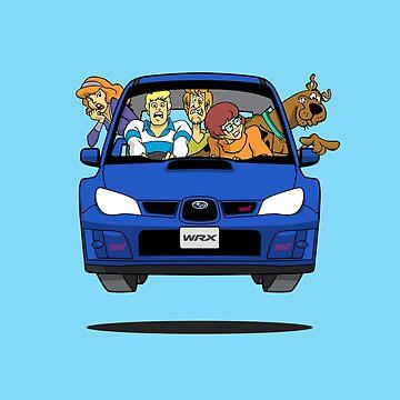 Subaru Impreza WRX Scooby Doo by nutandbolt