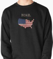 USA State Karte Stars & Stripes nach Hause Sweatshirt