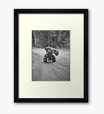 A Day With The Boys Framed Print