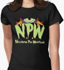 Nightmare Pro Wrestling - 2015 Logo Women's Fitted T-Shirt
