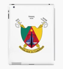 Coat of arms of Cameroon iPad Case/Skin