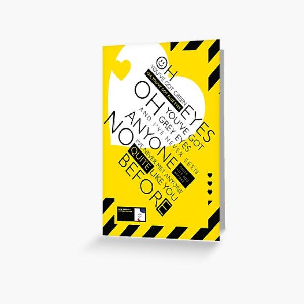 New Order Temptation Greeting Card