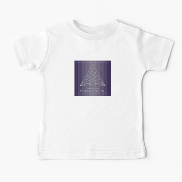 This is the First Day of My Life - Bright Eyes Baby T-Shirt