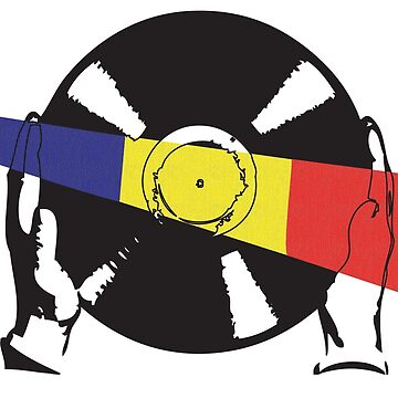 Romanian Flag Vinyl by McFrys