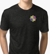 CentOS x4 Tri-blend T-Shirt