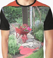 Le Jardin Rouge Graphic T-Shirt