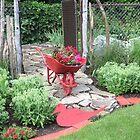 Le Jardin Rouge by Sandra Fortier