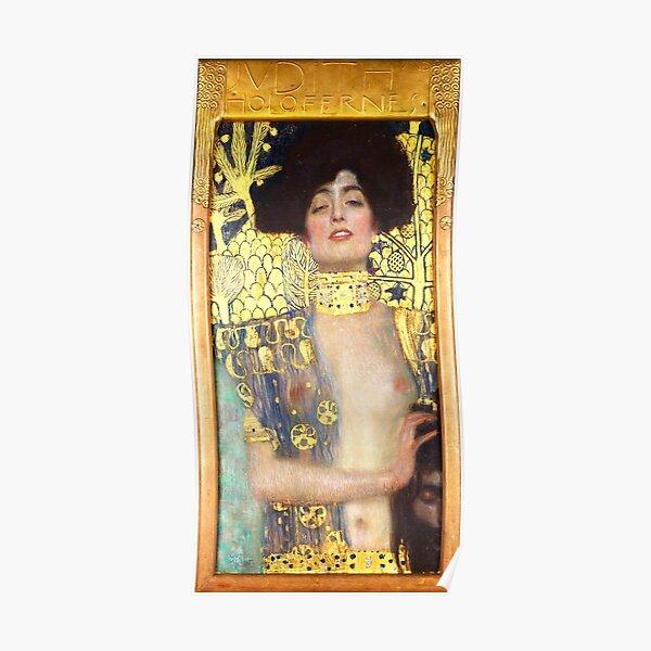 HD. Judith I, by Gustav Klimt. HIGH DEFINITION Poster