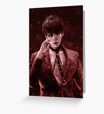 PSYCHO • Baekhyun Greeting Card