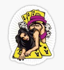 Girl player Sticker